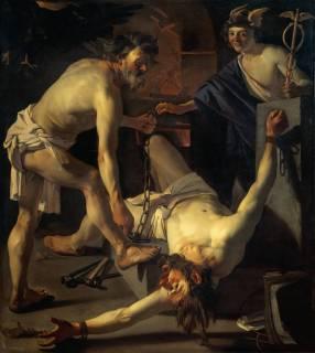 Dirck van Baburen - Il Prometeo incatenato