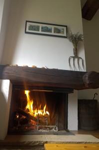 La legna stoccata qualche settimana fa