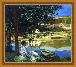 """La """"porta"""" di Alina Tomson (Monet)"""