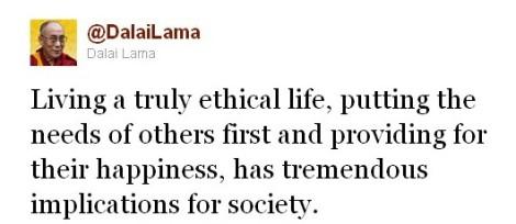 DalaiLama_20101027_living a truely ethical life