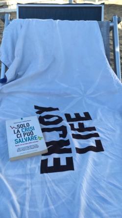 2016 08 - Libro in spiaggia